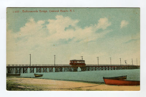 Buttonwoods Bridge, Oakland Beach, R.I.