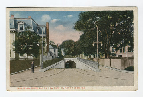 Thayer Street Tunnel, Providence