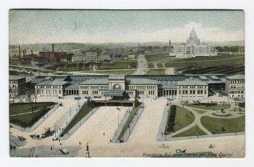 Union Station, R.I. State House, Providence