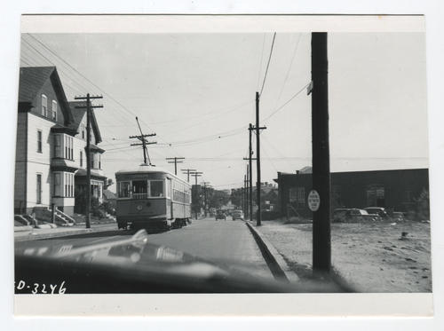 Union Avenue at Cumerford Street - Olneyville