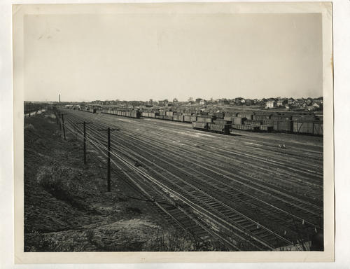 New Haven RR Northup Avenue Hump Classification Yard, Providence