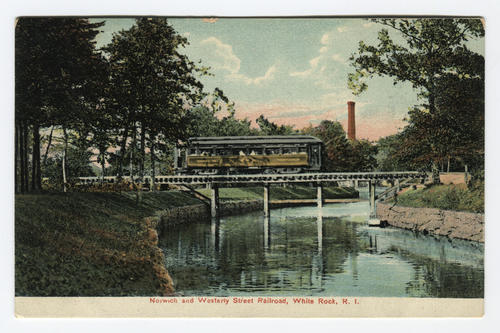 Norwich and Westerly Street Railroad, White Rock, R.I.