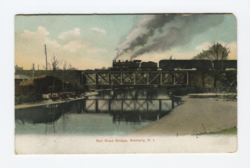 Railroad bridge, Westerly