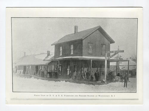 N.Y & N.E. Passenger and Freight Station, Woonsocket, RI