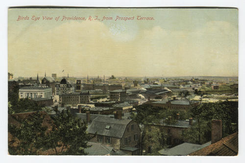 View of Providence from Prospect Terrace