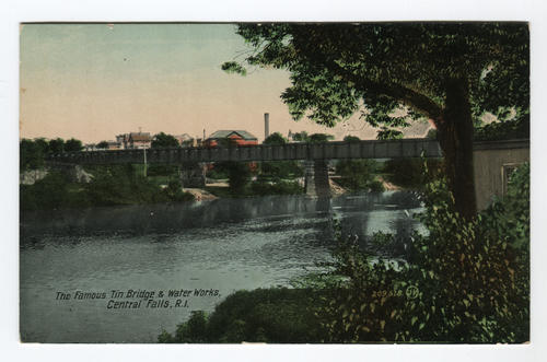 Tin Bridge, Water Works, Central Falls