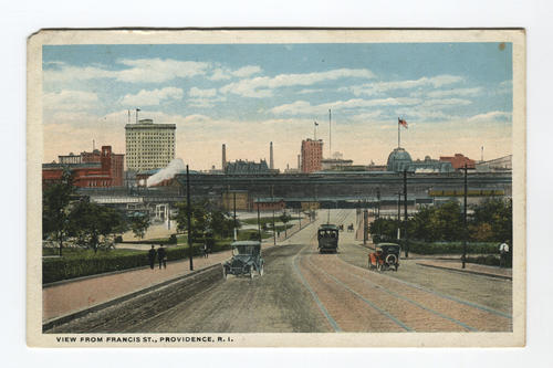 View from Francis Street, Providence