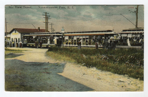 Sea View Railroad Station, Narragansett Pier