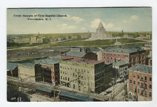 View of state house, Providence