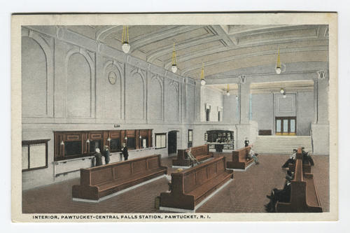 Pawtucket Central Falls Station, interior