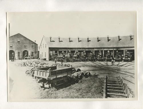 Providence & Worcester roundhouse