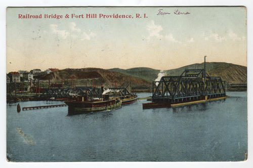 Railroad Bridge and Fort Hill