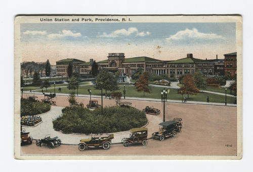 Union Station and Burnside Park, Providence