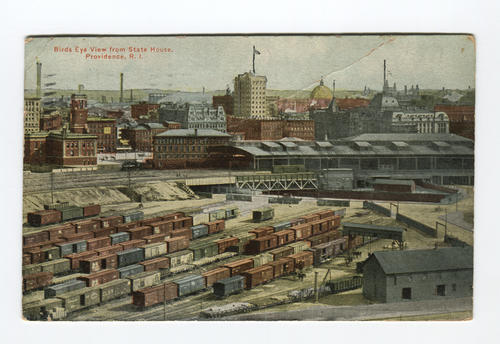 Union Station freight yard, Providence