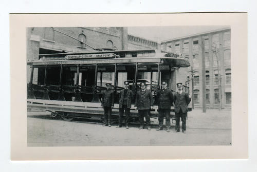 Olneyville car house about 1910