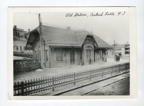 Old station, Central Falls, RI