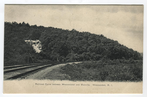 Railroad curve, Woonsocket