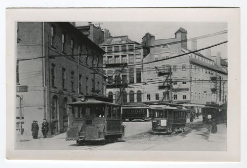 Market Square - College Hill cable grip car