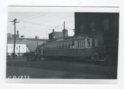 Car from Broad westbound on Goff to turn on Dexter 1886 Laconia 1917