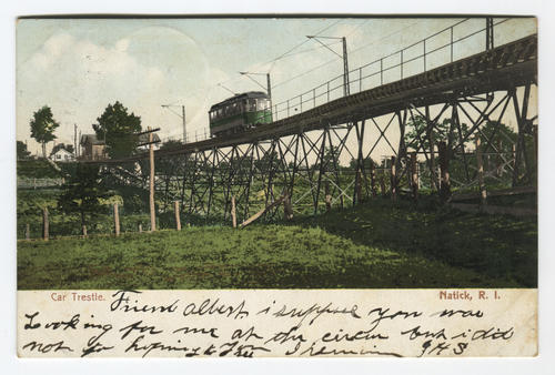 Car trestle, Natick, R.I.