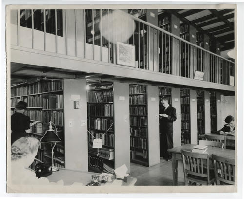 Providence Public Library, science and industry department