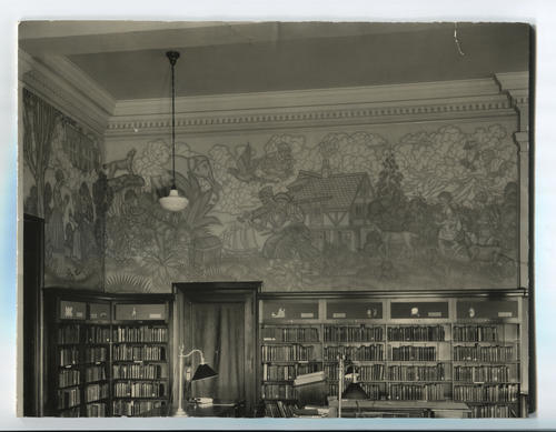 Providence Public Library, Children's room murals