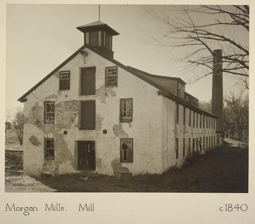Morgan Mills. Mill c. 1840