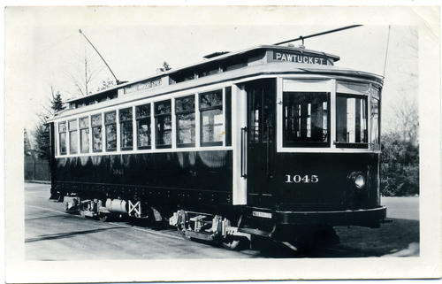1045 Bradley 1911 as rebuilt in 1926 for Pawtucket Express Service