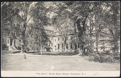 """The Elms"", Moses Brown School, Providence, R.I."