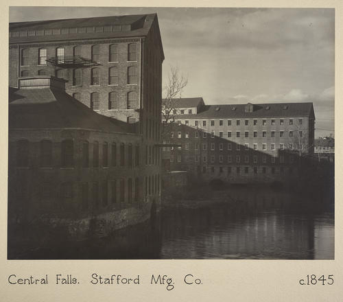 Central Falls. Stafford Mfg. Co. c. 1845