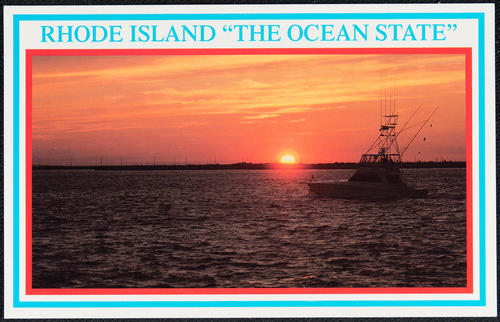 "Rhode Island ""The Ocean State"""
