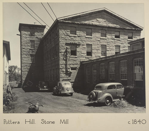 Potters Hill. Stone Mill c. 1840