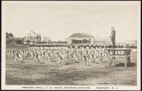 Swedish drill, U.S. Naval Training Station, Newport, R.I.