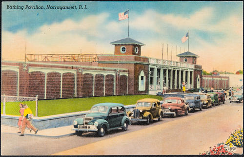 Bathing Pavilion, Narragansett, R.I.