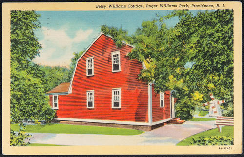 Betsy Wiliams Cottage, Roger Williams Park, Providence, R.I.