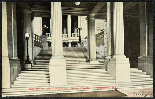 Interior of Main Entrance, State Capitol, Providence, R.I.