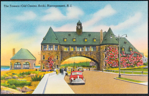 The Towers (Old Casino Arch), Narragansett, R.I.