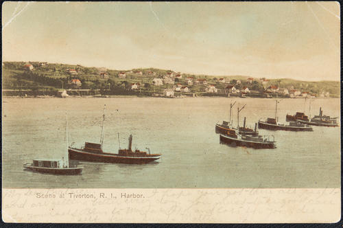 Scene at Tiverton, R.I. Harbor
