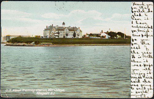 U.S. Naval Training Station, War College, Newport, R.I.