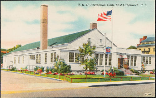 U.S.O. Recreation Club, East Greenwich, R.I.
