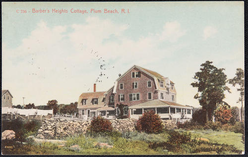 Barber's Heights Cottage, Plum Beach, R.I.