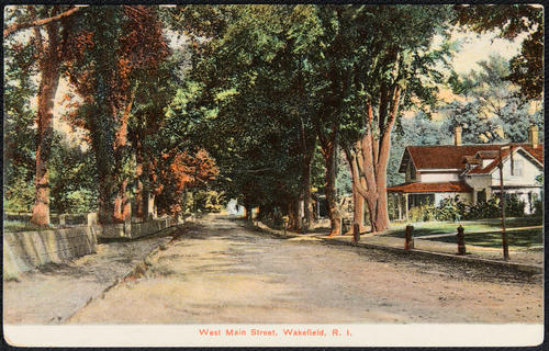 West Main Street, Wakefield, R.I.