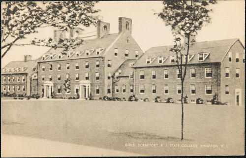 Girls' Dormitory, R.I. State College, Kingston, R.I.
