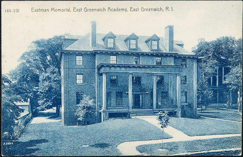 Eastman Memorial, East Greenwich Academy, East Greenwich, R.I.