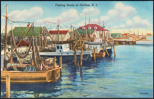Fishing Boats at Galilee, R.I.