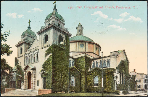 First Congregational Church, Providence R.I.