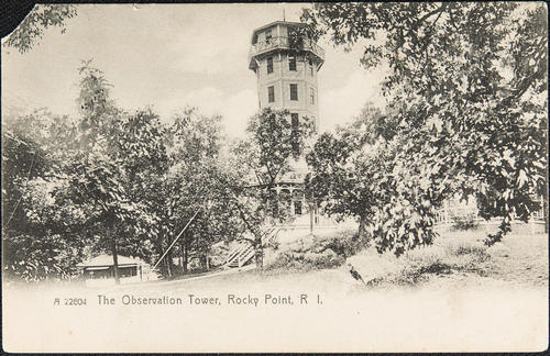 The Observation Tower, Rocky Point, R.I.