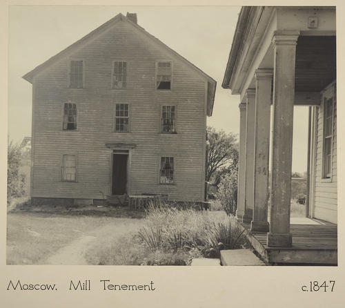 Moscow. Mill Tenement c. 1847