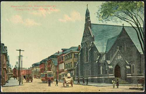 Messiah Church, Westminster St. Olneyville, Providence, R.I.