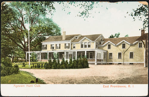 Agawam Hunt Club, East Providence, R.I.